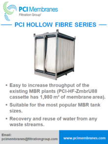PCI Membranes/Filtration Group, Hollow fibre series