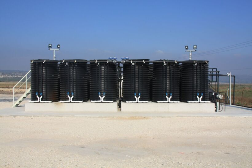 HaYogev MABR wastewater treatment plant, Israel | Img Case Study Fluence Hayogev 1
