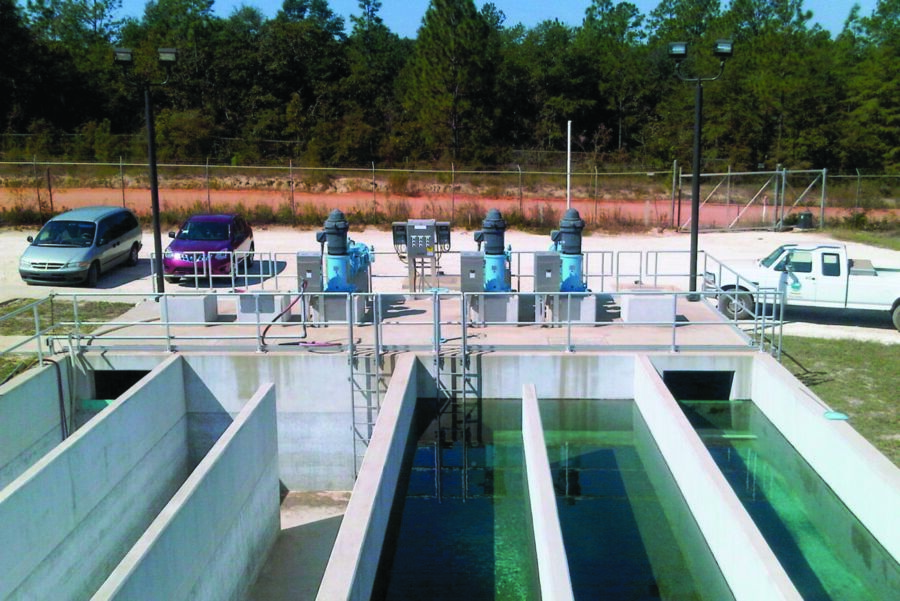 Toray MBR modules for water reuse in Crestview, Florida