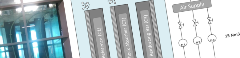 | Feature clogging mitigation header