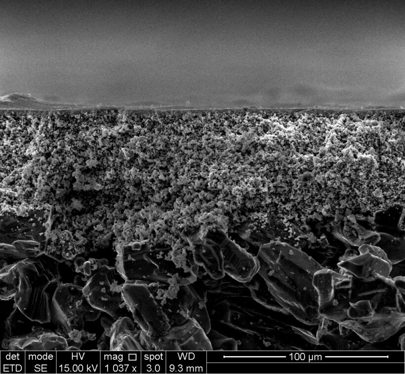 SEM of a ceramic membrane. Source: Cembrane A/S | Blog Feb 17 Cost Of Ceramic Membranes For  Mbrs