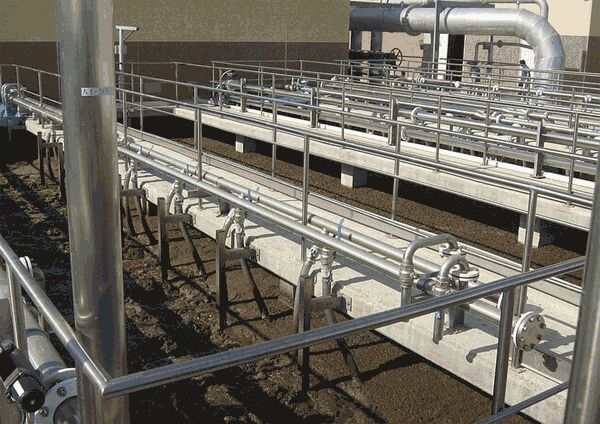 Figure 4.  The MBR tanks at Arenales del Sol WWTP | Feat Arenales Del Sol Fig 4