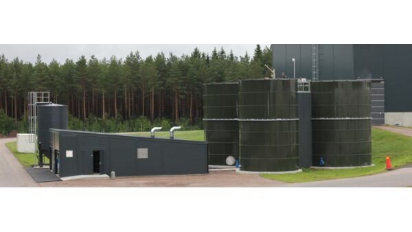 Grundfos BioBooster MBR plant treating dairy wastewater at the Arla factory, Vimmerby