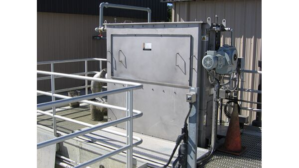 MBR centre-flow band screen