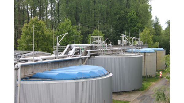 Figure 4d.  The new Anammox process tanks