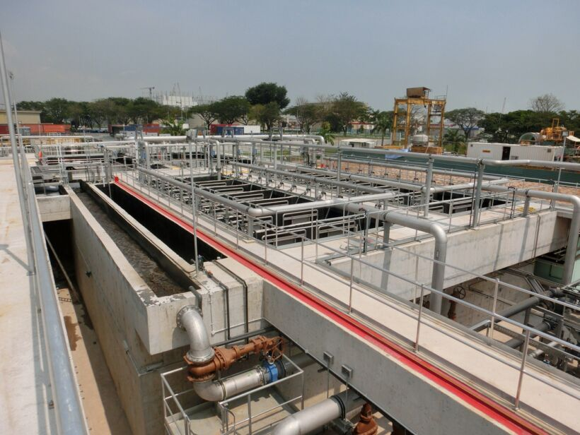 PUB Singapore's ceramic MBR plant | News April 15 Singapores Ceramic Mbr Plant Awarded Industrial Water Project Of The Year At Global Water Awards 2015 2