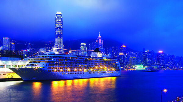 'The World', the largest private residential ship on the seas, in Hong Kong | News Jan 16 Wartsila To Upgrade Largest Residential Ship In The World