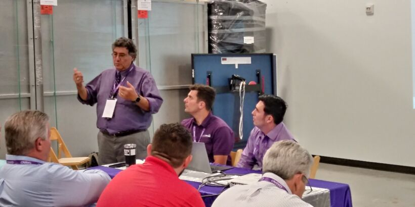 Fig 8: Joe Vigil and team discussed how Ovivo are planning to 'create dynamic root cause maps to solve problems faster'.   News May 2018 Ovivo Rocks Data Fig 8