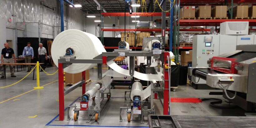 Fig 1: The new manufacturing facility in Austin, Texas seals MICRODYN-NADIR's partnership with Ovivo in the USA   News May 18 Microdyn Opens Plant Fig 1