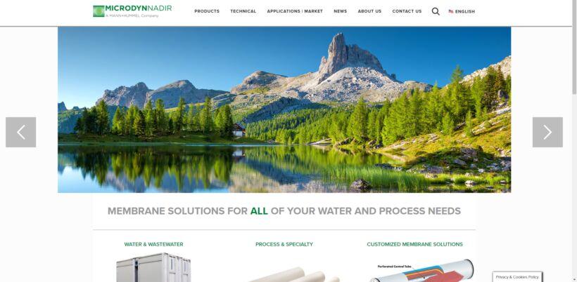 | News Dec 2019 Microdyn Nadir New Website