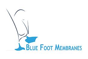 Logo eshot blue foot membranes