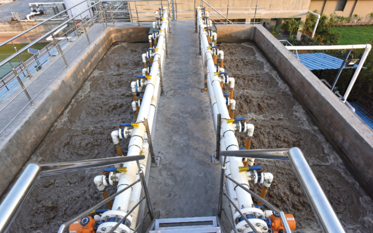 An image of a Toray MBR plant.