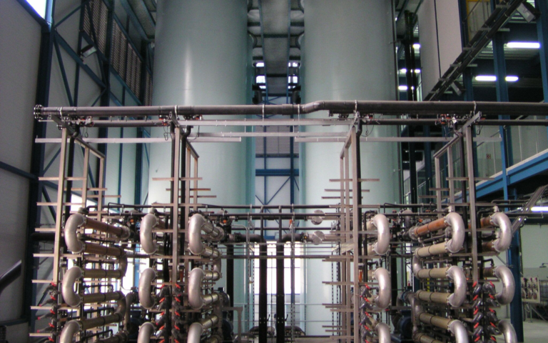 An image of a WEHRLE MBR plant.